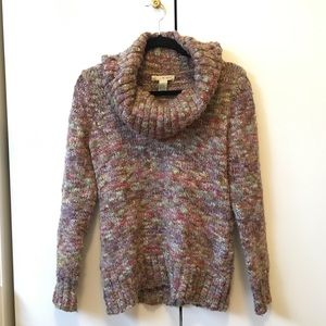 Multi Colored Cozy Turtleneck
